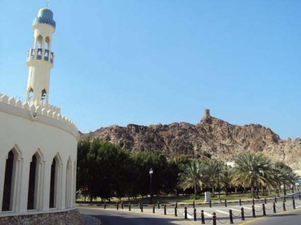 Mezquita en Mascate