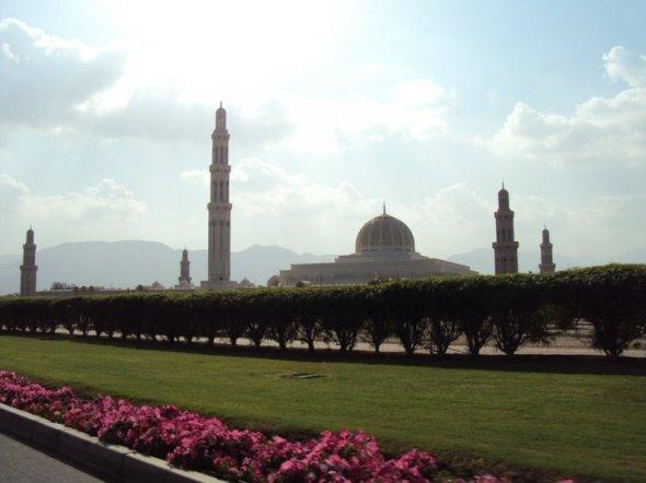 Panorámica de la Mezquita del Sultán Qaboos