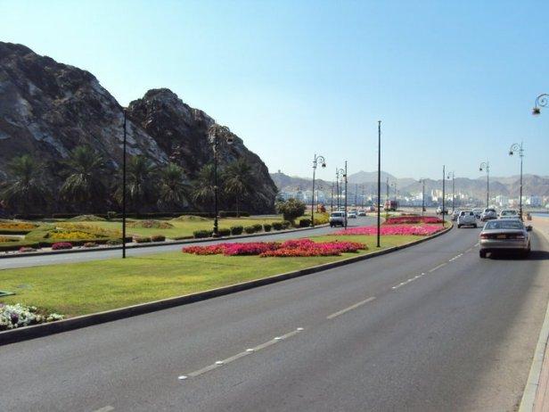 Autopista en Muttrah
