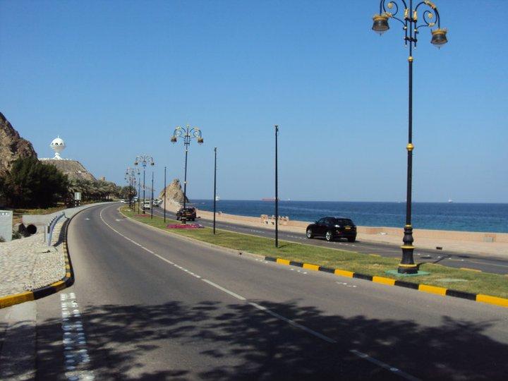 Autopista hacia Mascate