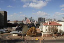 Panorámica del Centro de Johannesburgo