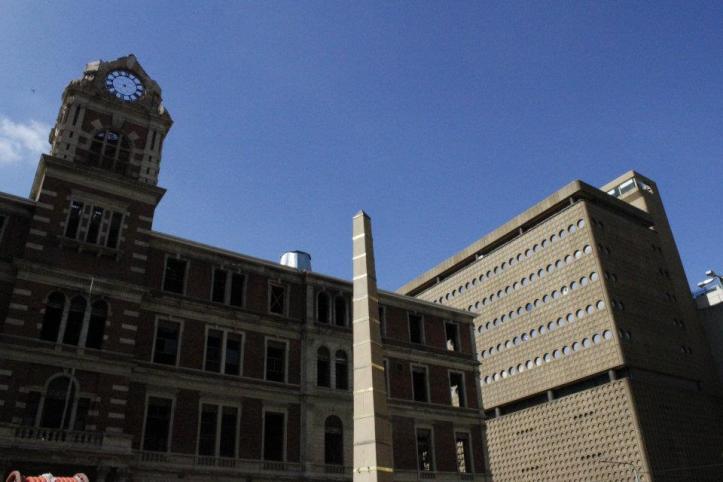 Edificios en el Centro de Johannesburgo