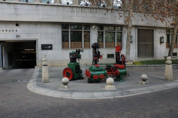 Más monumentos a la minería en el Centro de Johannesburgo