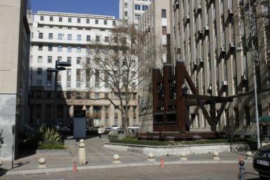 Y más monumentos a la minería en el Centro de Johannesburgo