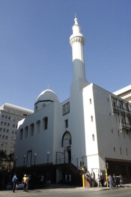 Mezquita en el Centro de Johannesburgo