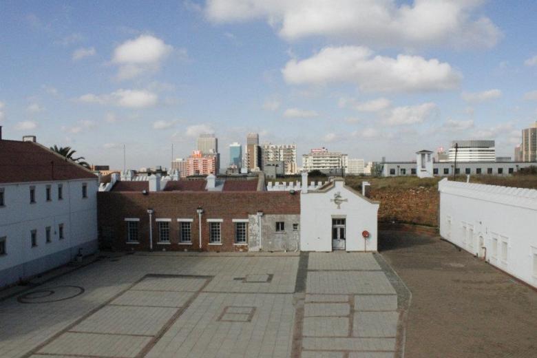 Johannesburgo desde el fuerte militar