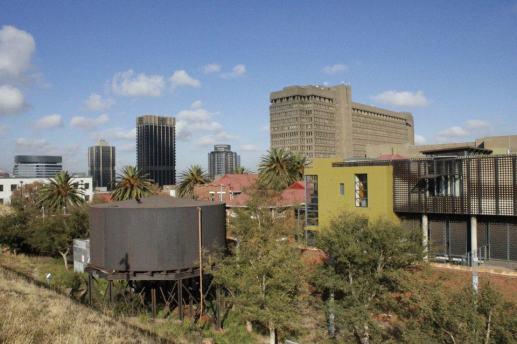 Antigua cárcel para mujeres prisioneras políticas durante el régimen del Apartheid