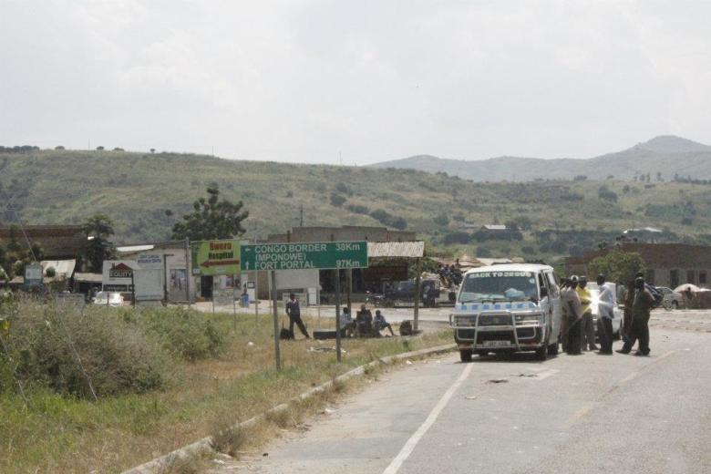 Frontera del Congo 38 kms Parque Nacional Reina Isabel, Uganda
