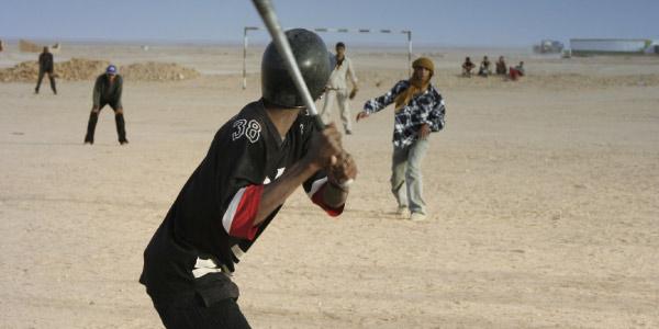 Los beisbolistas del Sahara ( Fuente )