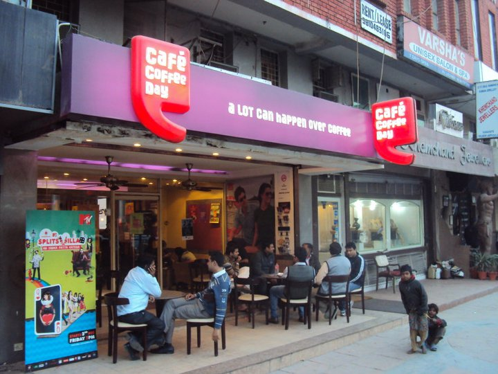 Café Coffee Day en Nueva Delhi