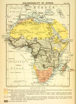 Colonizabilidad de África