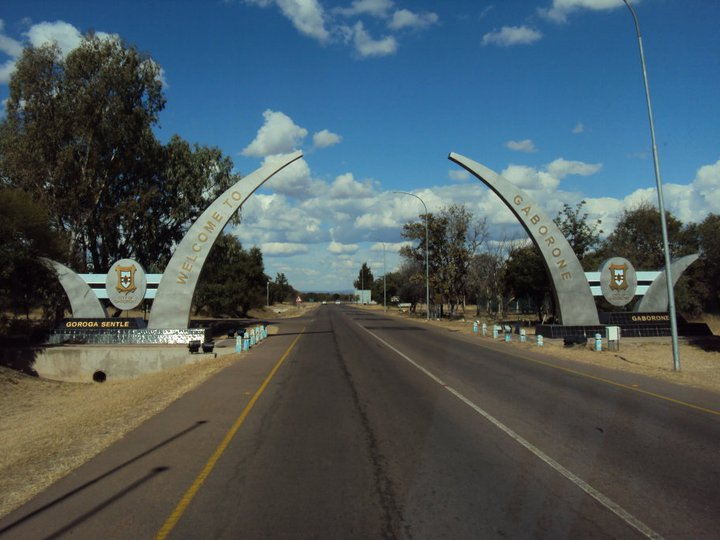 Bienvenidos a Gaborone