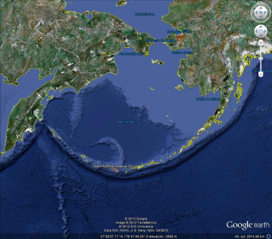 Isla Amchitka, Alaska, Estados Unidos
