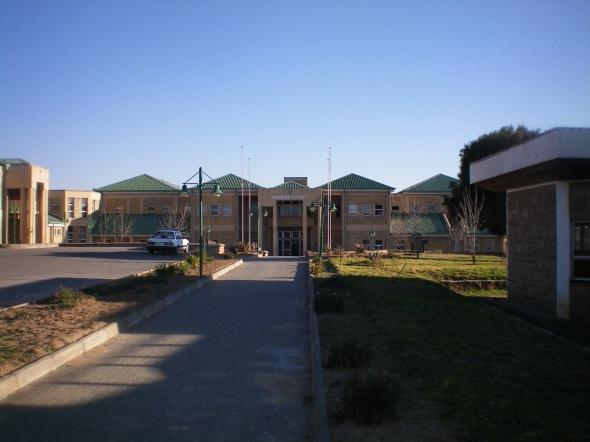 La mini Corte Suprema de Justicia en Maseru