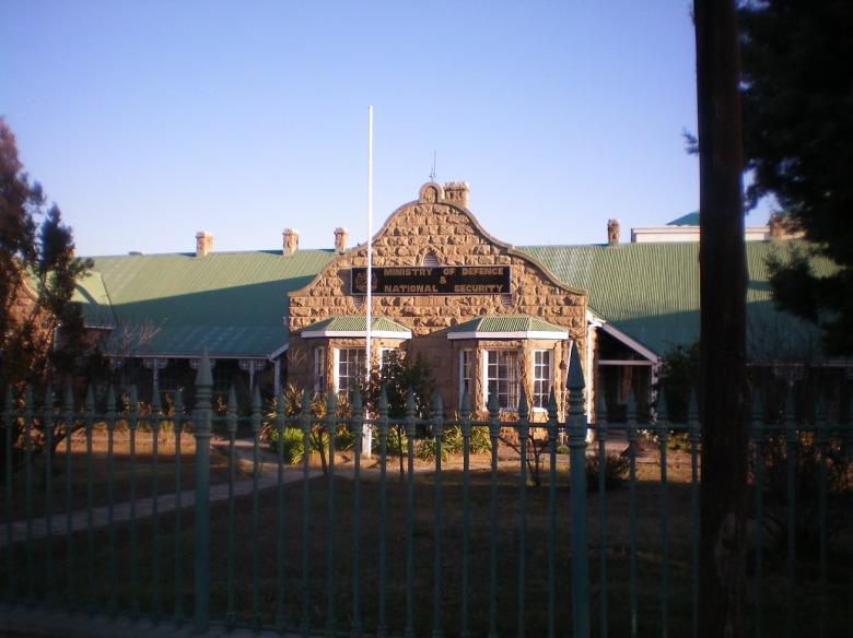 Ministerio de Defensa en Maseru, Lesotho