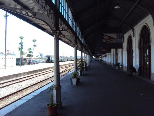 Estación del Ferrocarril de Maputo