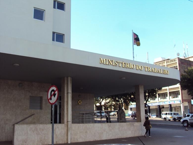 Ministerio de Trabajo en Maputo