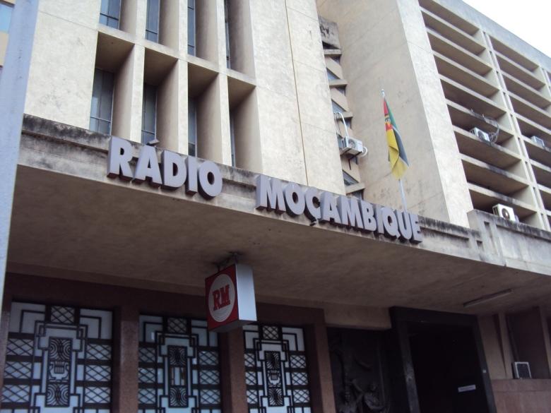 Sede de Radio Mozambique en Maputo