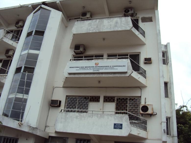 Antigua sede del Ministerio de Relaciones Exteriores y Cooperación de Mozambique