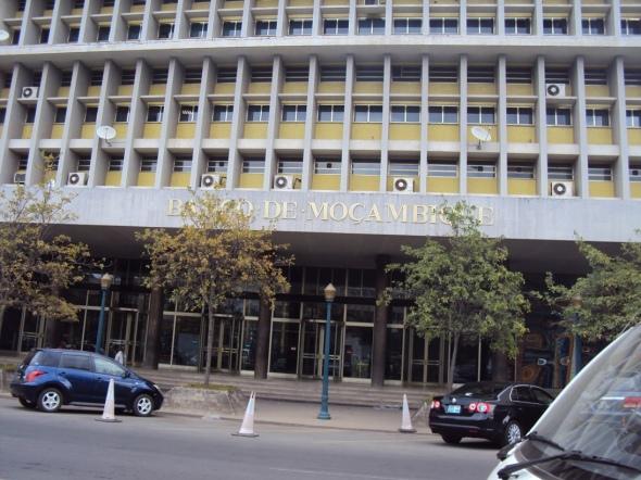 Sede del Banco Central de Mozambique