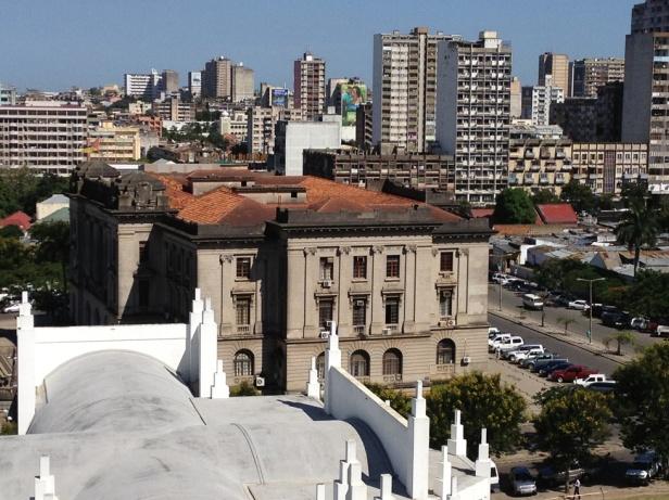 Panorámica del Centro de Maputo