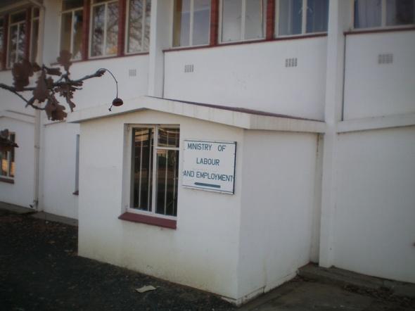Ministerio de Salud y Seguridad Alimentaria en Maseru, Lesotho