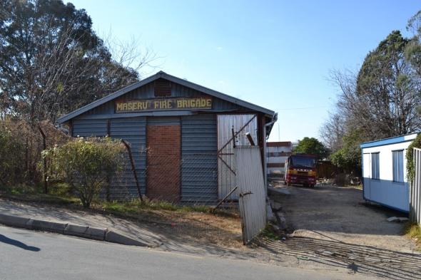 Y la gran estación de bomberos