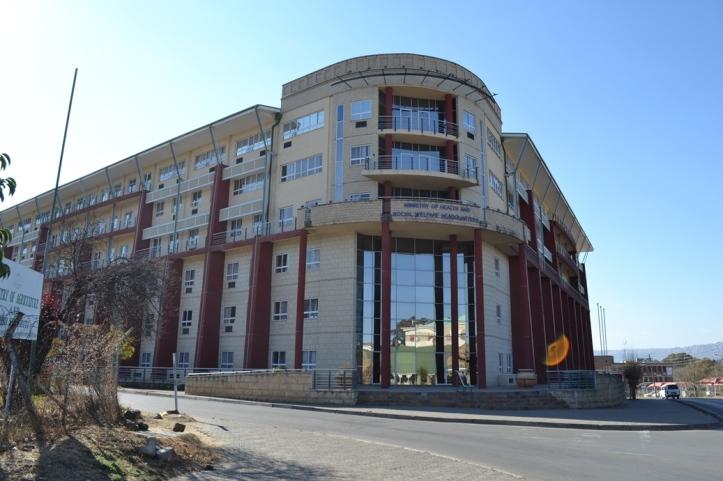 Ministerio de Salud en Maseru, Lesotho