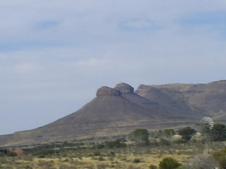 Montañas Maloti en las afueras de Maseru