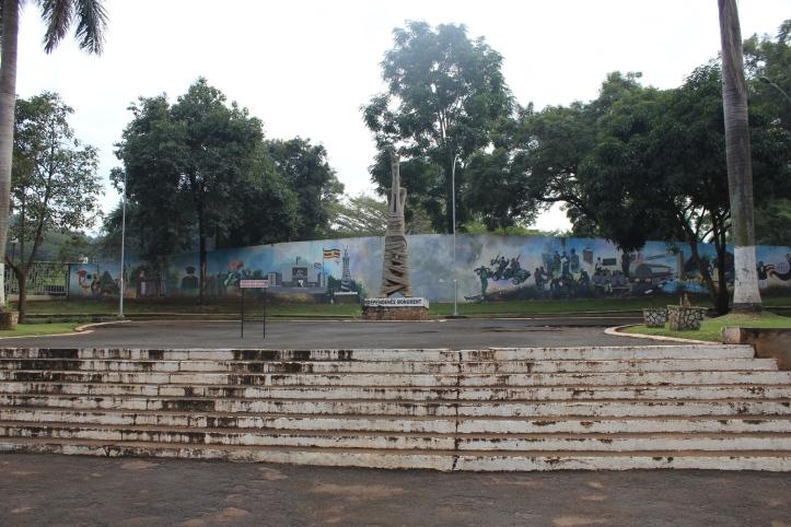Monumento a la Independencia en Kampala, Uganda
