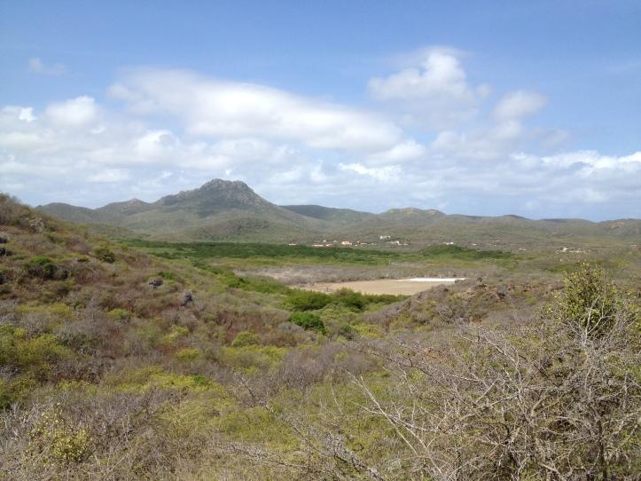 La montaña más alta de Curaçao en el Parque Nacional Christoffel