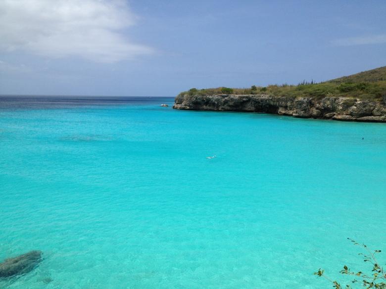 Playa en la zona de Knip en el norte de Curaçao