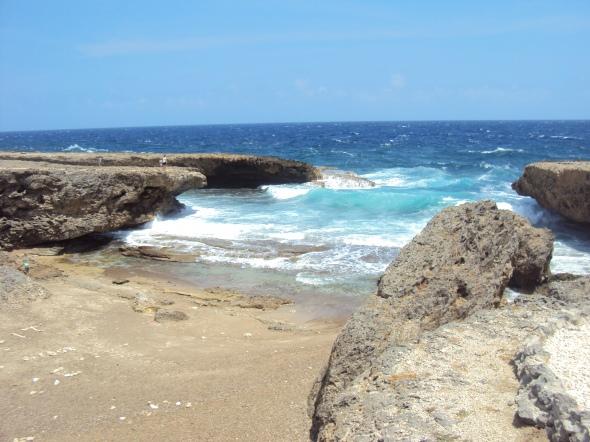 Costas en el Parque Nacional Christoffel en Curaçao