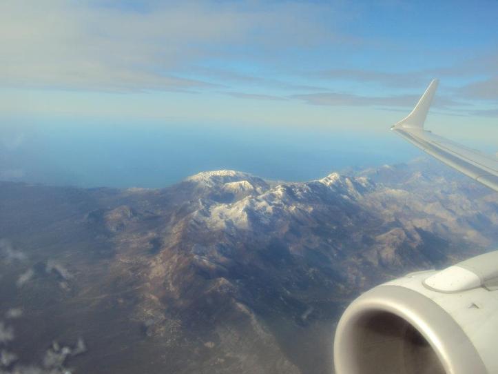Montañas croatas de camino a Albania