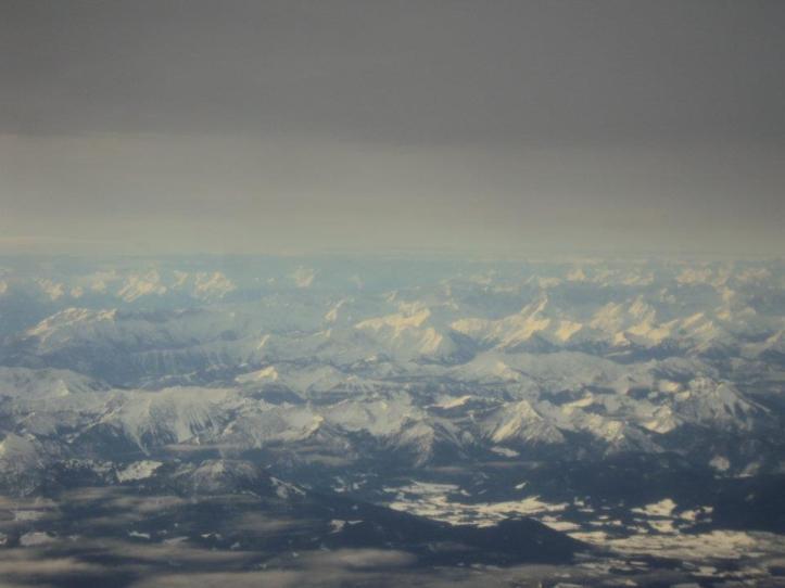 Alpes austríacos de camino a Tirana