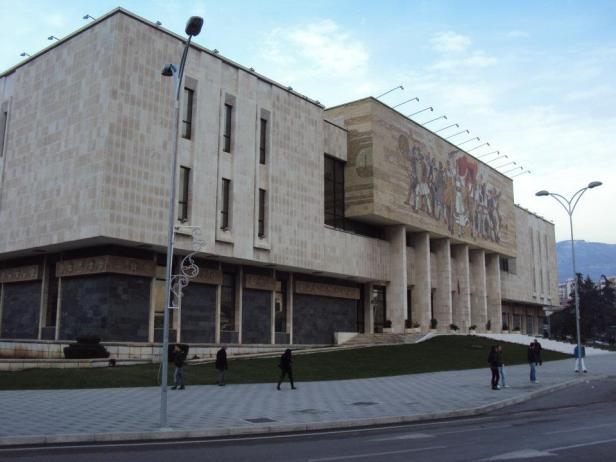 Museo Nacional de Historia de Albania en Tirana