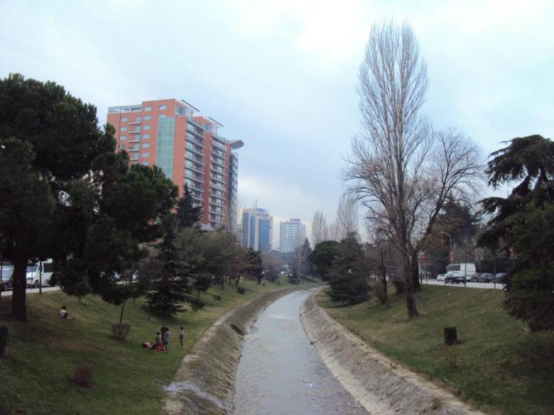 Centro de Tirana, Albania