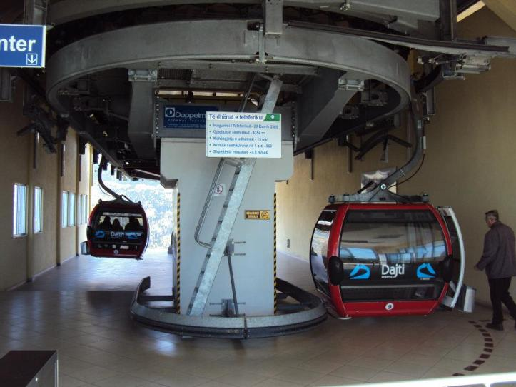 Teleférico al Parque Nacional de la Montaña Dajti