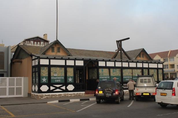 Stadtmitte café en el Centro de Swakopmund