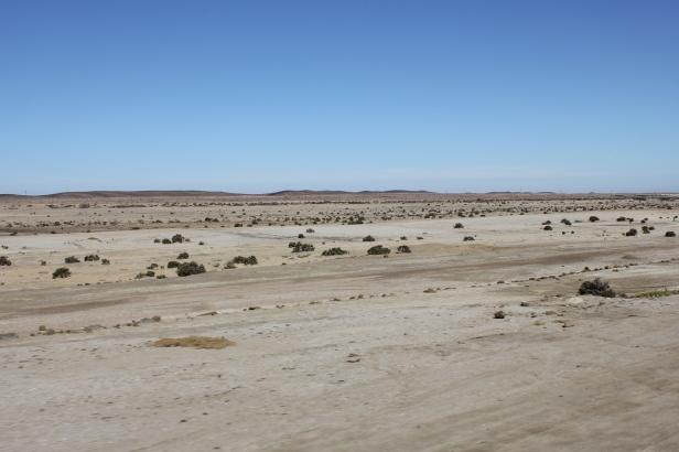 Desierto del Namib entre Windhoek y Swakopmund