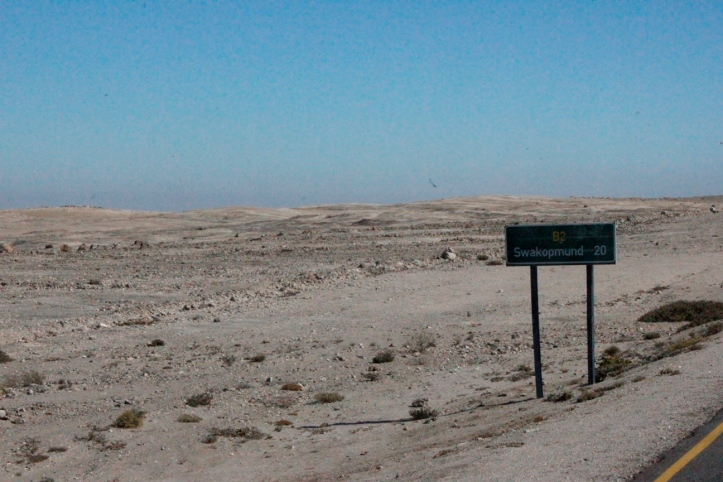 Y finalmente, Swakopmund a 20 kilómetros