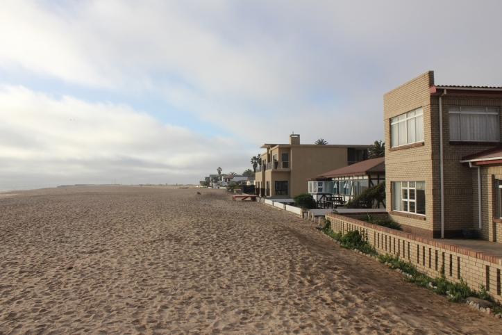 Casas frente a la playa en Swakopmund