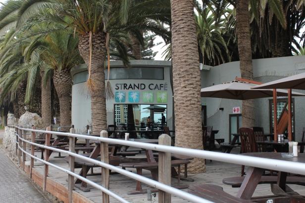 Strand Café en Swakopmund