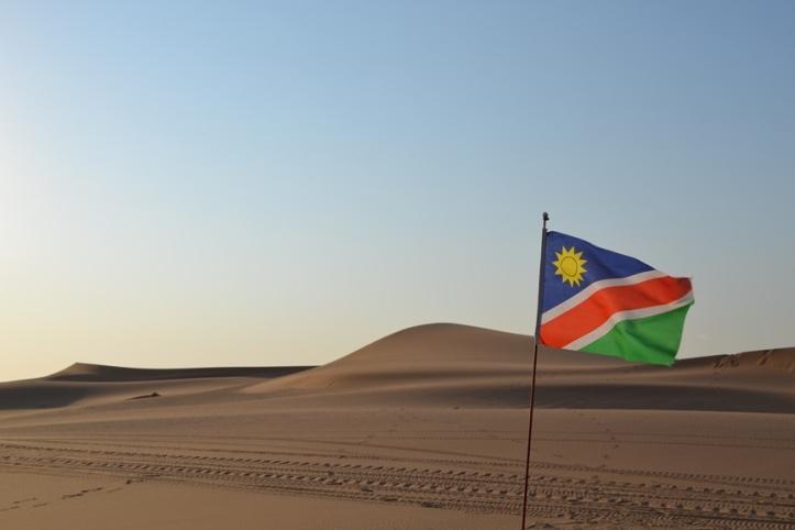 Dunas en Swakopmund