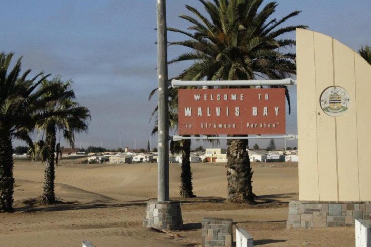 Bienvenidos a Walvisbaai