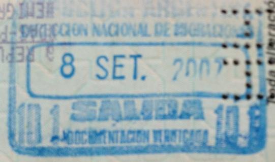 Emigración: Aeropuerto Internacional de Ezeiza, Argentina