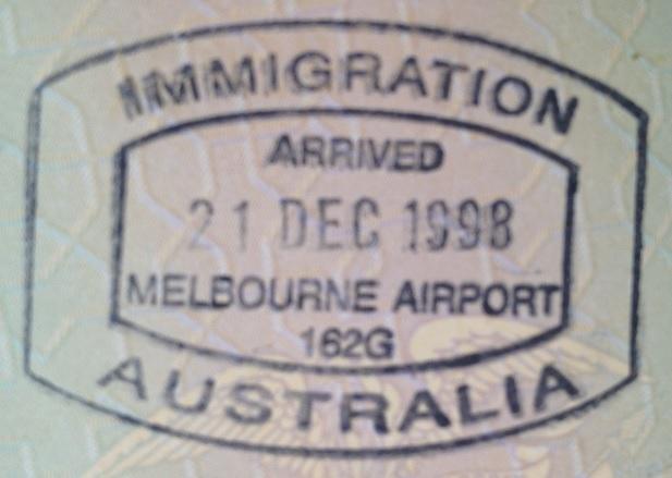 Inmigración: Aeropuerto Internacional de Melbourne, Australia