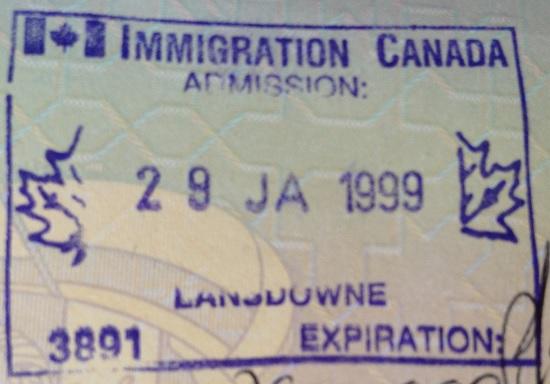 Inmigración: Puesto fronterizo de Lansdowne, Canadá