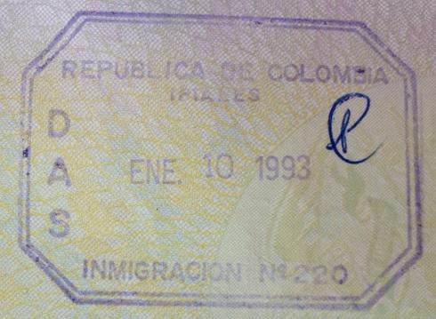 Inmigración: Puesto fronterizo de Ipiales, Colombia