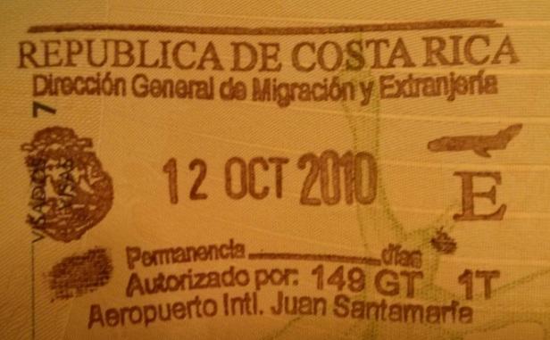 Inmigración: Aeropuerto Internacional Juan Santamaría de San José, Costa Rica (Cortesía: Antonio Mellado)